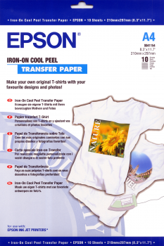 Iron-on-Transfer Paper - A4 - 10 Folhas