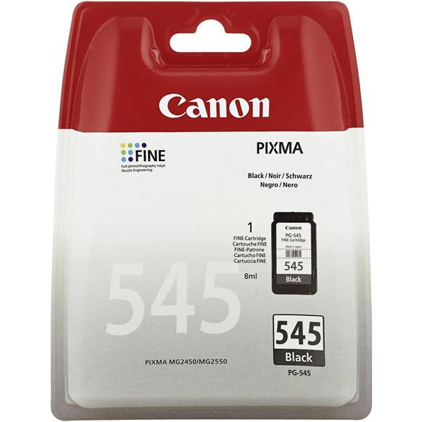 CANON TINTEIRO PRETO PG-545 P/ PIXMA iP2850 E MG2550