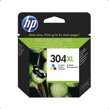 HP 304XL Tri-color Ink Cartridge